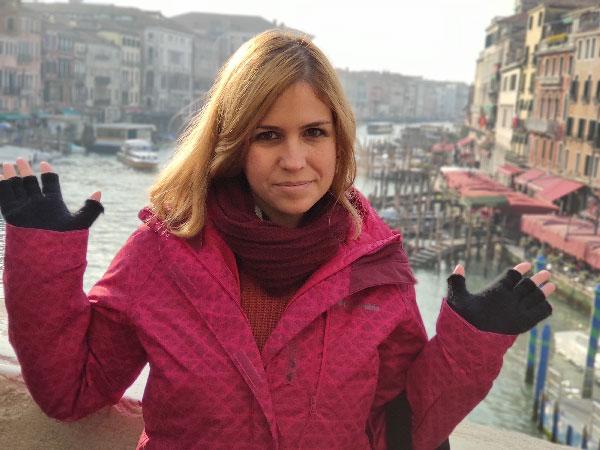 סיור בונציה בעברית עם המדריכה אור