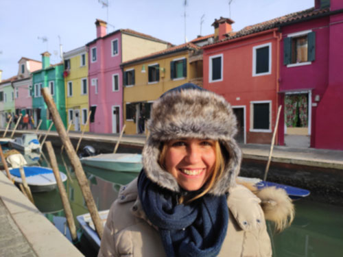 אור הדר מדריכה סיורים בונציה